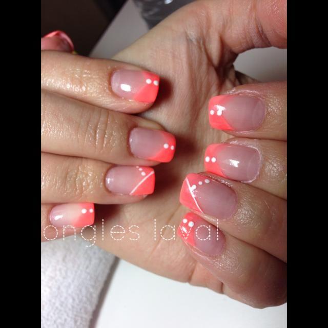 Ongles Laval Laval Nails R Sine Et Poudre Nail Art