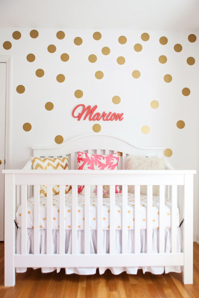 1000 ideas about polka dot nursery on pinterest nursery for How to make polka dots on wall