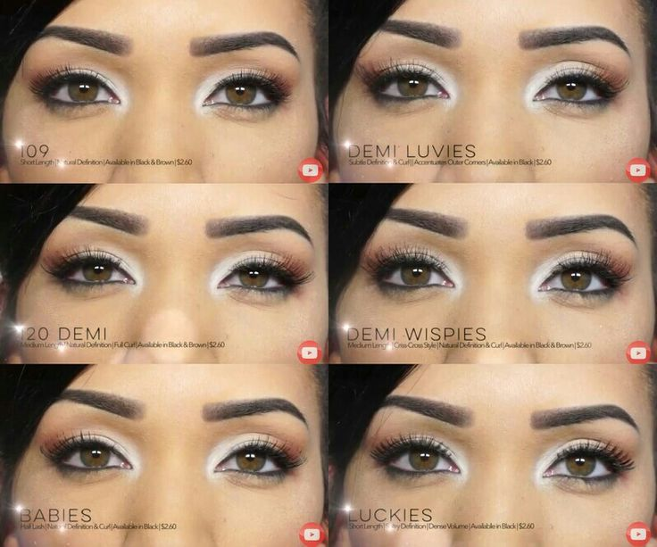2b555988651 Ardell Lashes: 109, 120, Babys, Demi Luvies, Demi Wispies, Luckies ...