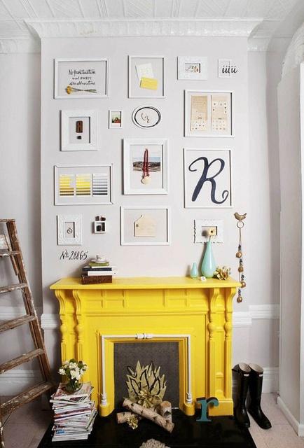 10 best mantle arrangements images on Pinterest   Decorating ideas ...