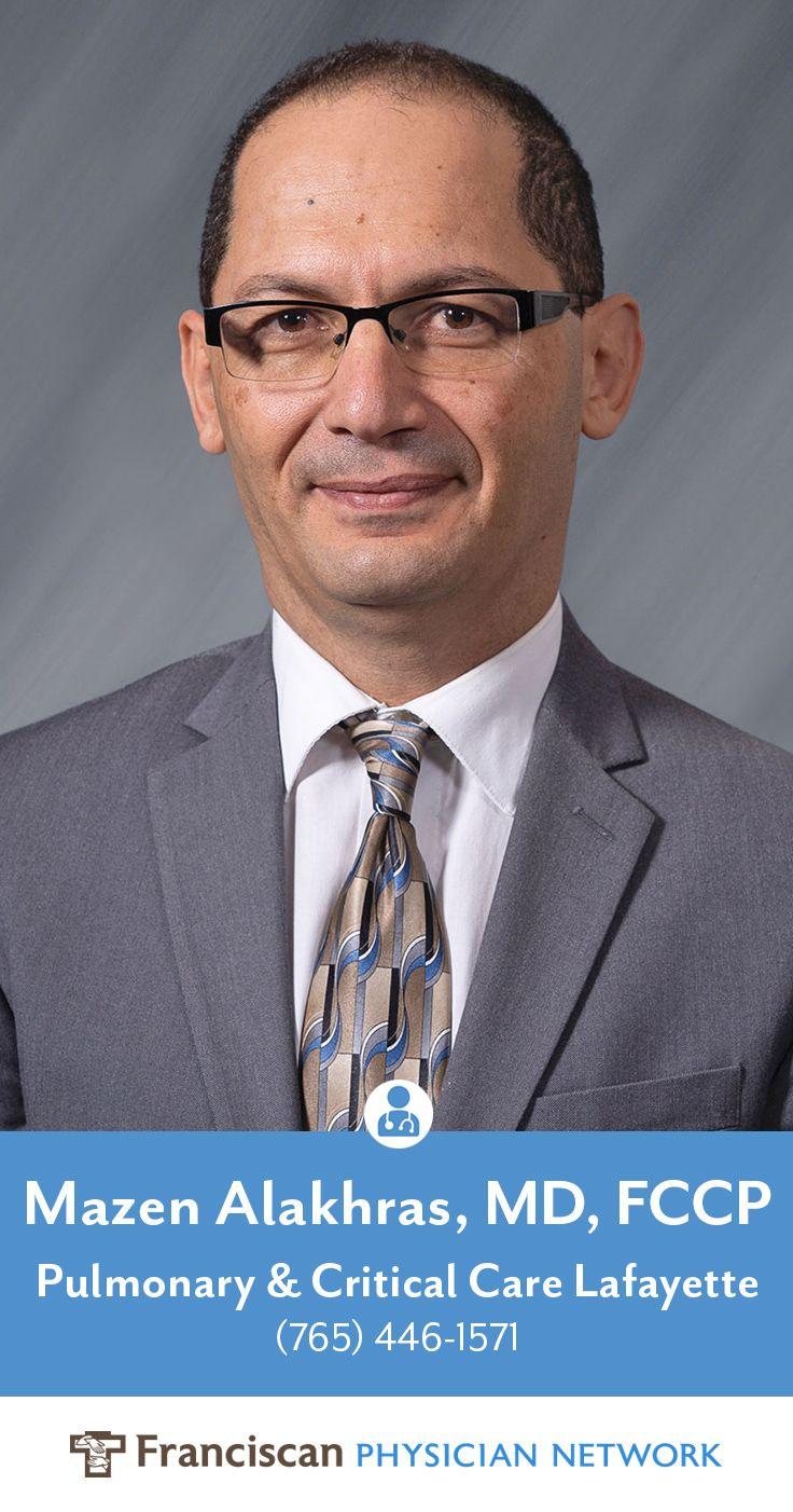 Mazen alakhras md fccp specializes in pulmonary