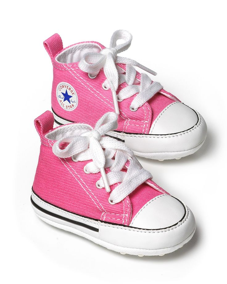 "Converse Infant ""First Star"" High Top Sneakers - Sizes 1-4 Infant 