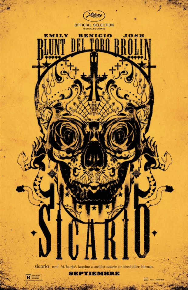 """Sicario - Denis Villeneuve 2015 -- """"After an idealistic FBI agent is recruited by a government task-force official to pursue a drug lord, she begins a perilous mission that forces her to question everything she believes, & pits her against a shadowy consultant with a dangerous agenda."""""""