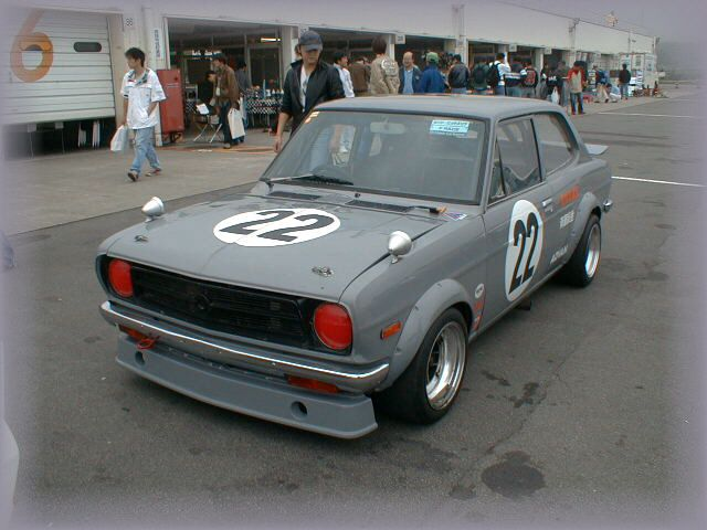 Datsun Door Sedan Racing Datsun Sunny Nz Pinterest