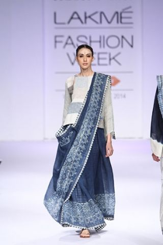 Anavila. LFW A/W 14'. Indian Couture.