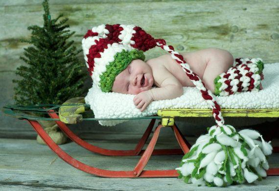 Newborn Christmas Outfit Kids Christmas by babypropsbyconnie