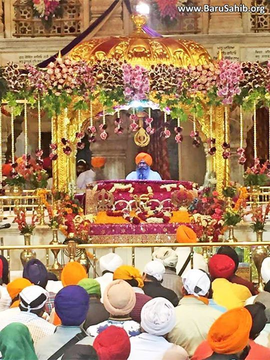 Pics‬ of Celebrations on Prakash Purakh Purab of Guru Tegh Bahadur Sahib Ji at Gurdwara Sisganj Sahib!
