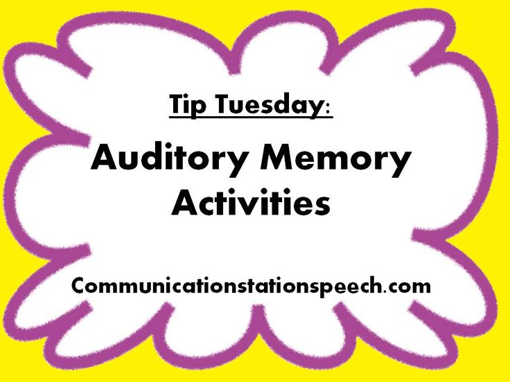 Printables Auditory Memory Worksheets 1000 images about adult auditory rehabilitation on pinterest memory activities