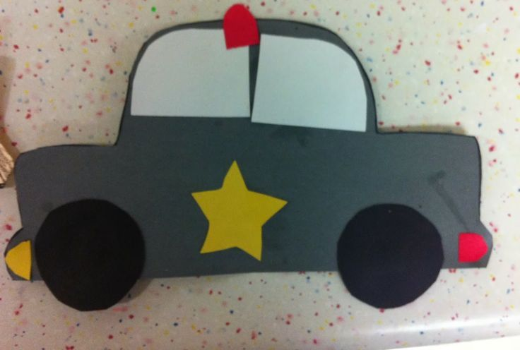 police crafts for preschoolers car craft preschool images community 548