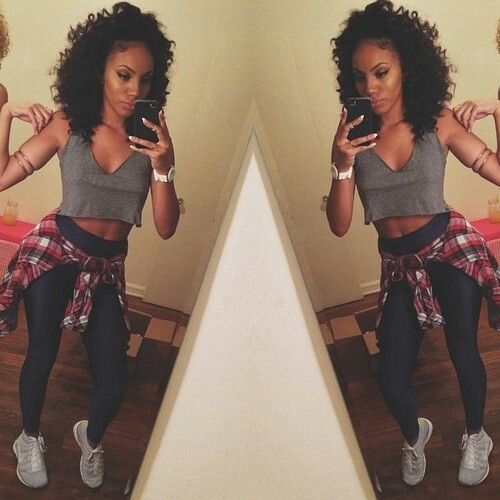 Stylish Black Girls: Black Girl Swag.