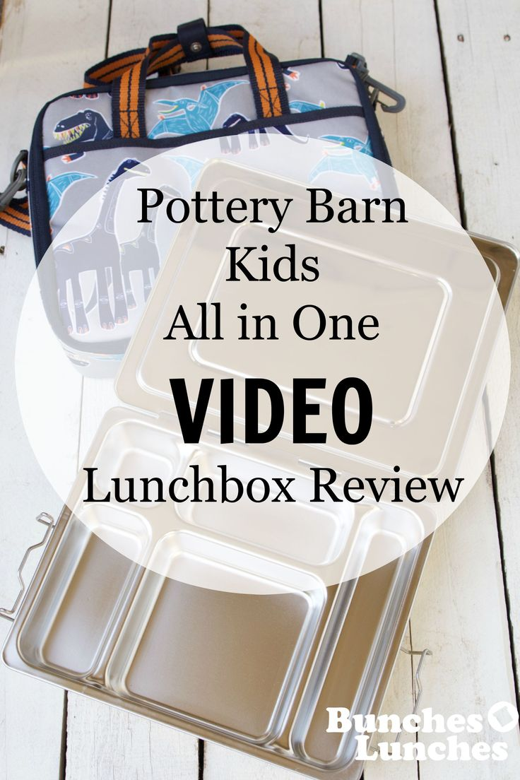 Pottery Barn Kids All In One Lunchbox Review From