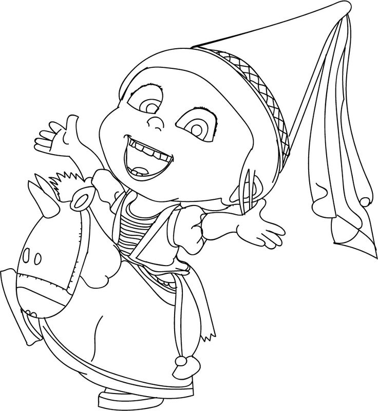 coloring pages minions angen - photo#39