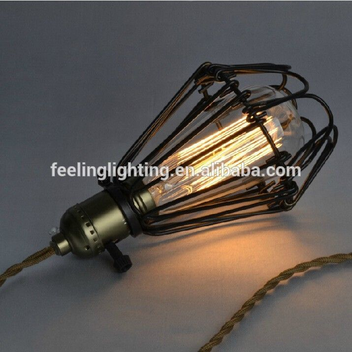 American country edison bub style industrial loft light for restaurant,coffee case on alibaba website