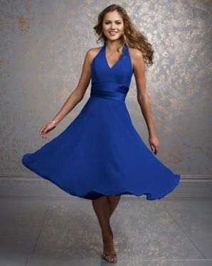 a nice bridesmaids dress, perfect colour