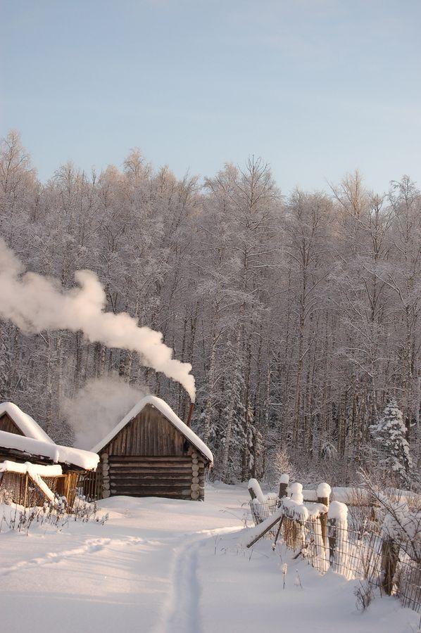 Snow Cabin, Russia