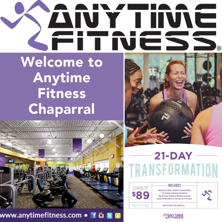 Calgary Anytime Fitness Chaparral Is A Clean New Facility With Amazing Staff Who Are Ready To Support You On You Anytime Fitness Anytime Fitness Gym Gym Life