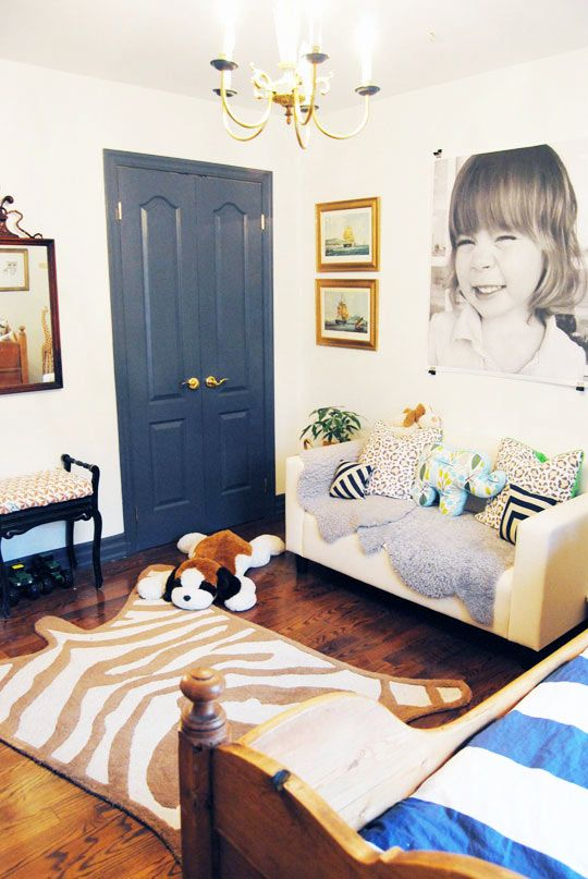 """Malcolm's """"Fit for a Gentleman"""" Room Kids Room Tour   Apartment Therapy"""