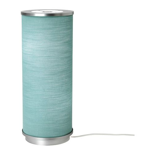 VIDJA Table lamp IKEA. Have this in orange already. How awesome it now comes in turquoise! $20