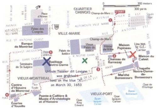 Place d Armes map