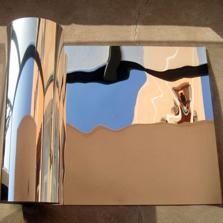 0.5 м х 1 м Отражающей Солнечный Фильм Обои Декоративное Зеркало Фольга Водонепроницаемый Самоклеющиеся бумаги контакт световой Корки Стикеркупить в магазине REINDEER eSpace StoreнаAliExpress