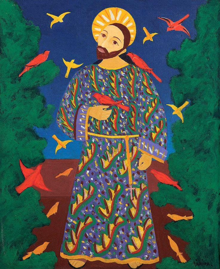 São Francisco de Assis Djanira da Motta e Silva (Brasil, 1914-1979) óleo sobre tela, 73 x 60 cm