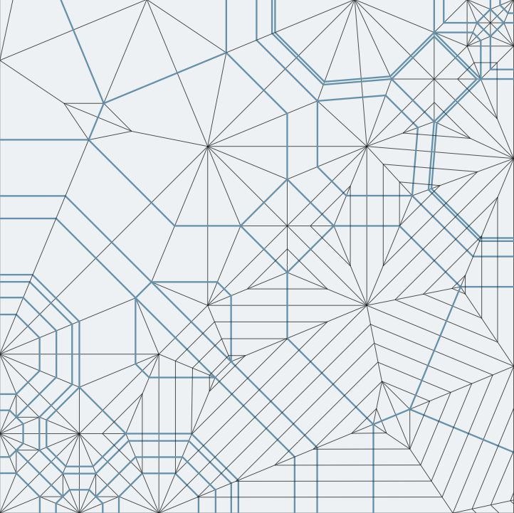 Origami crease patterns (i).
