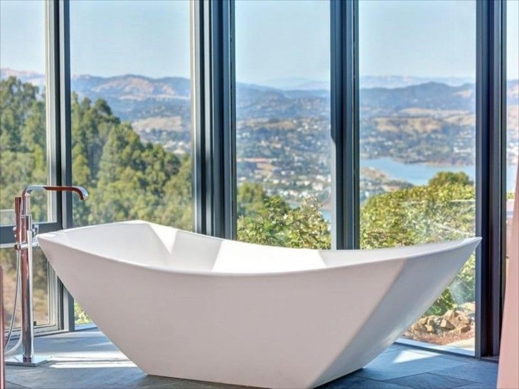 Room With A View Garden Design Part - 33: Rooms With A View Not Sure Where This Is, But It Reminds Me Of Mt. Tam In  California (Marin County). This Is My Ideal Tub As Well. Whimsical Home And  Garden