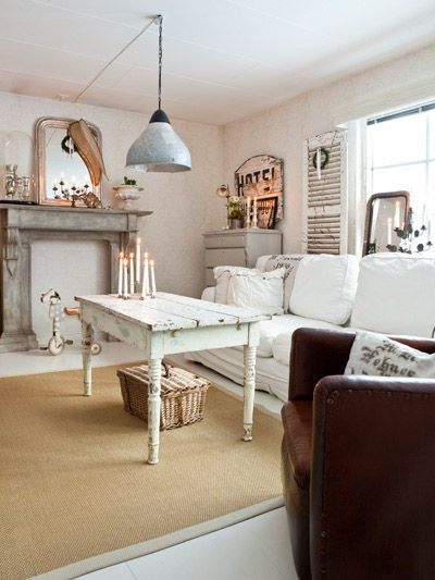 102 best brocante woonkamer images on pinterest home Brocante woonkamer