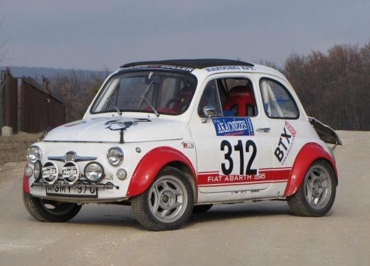 Red RoomFiat Abarth 595 SS Rallye (1969)