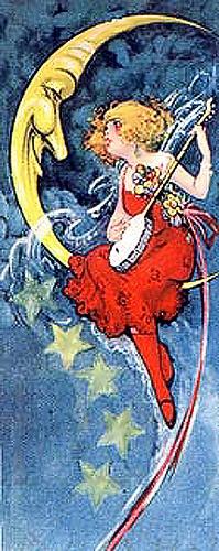 Fairy playing banjo