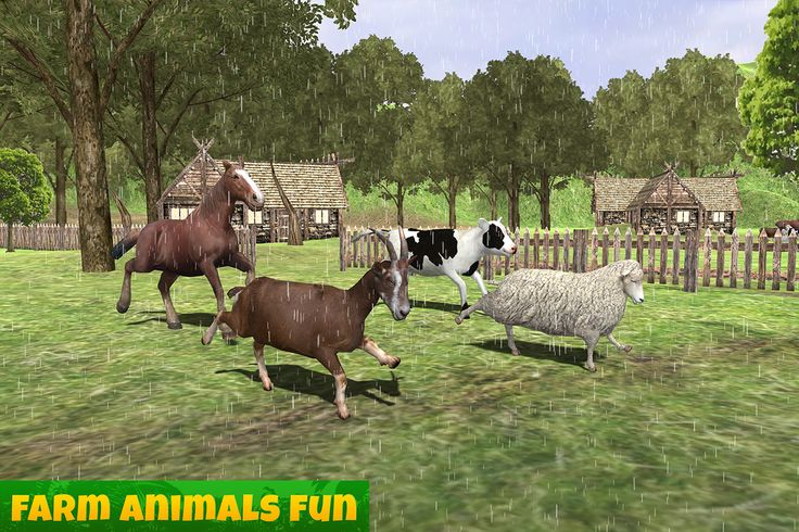 #farm #animals #family #action #adventure #simulation #survive #cow #goat #sheep #horse #drink #water #eat #food #mate #racing #explore #android #game