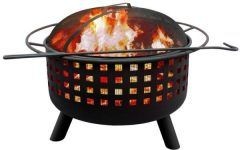 Landmann Fire Pit Landmann City Lights Memphis Black Fire Pit 26314   The Home Depot