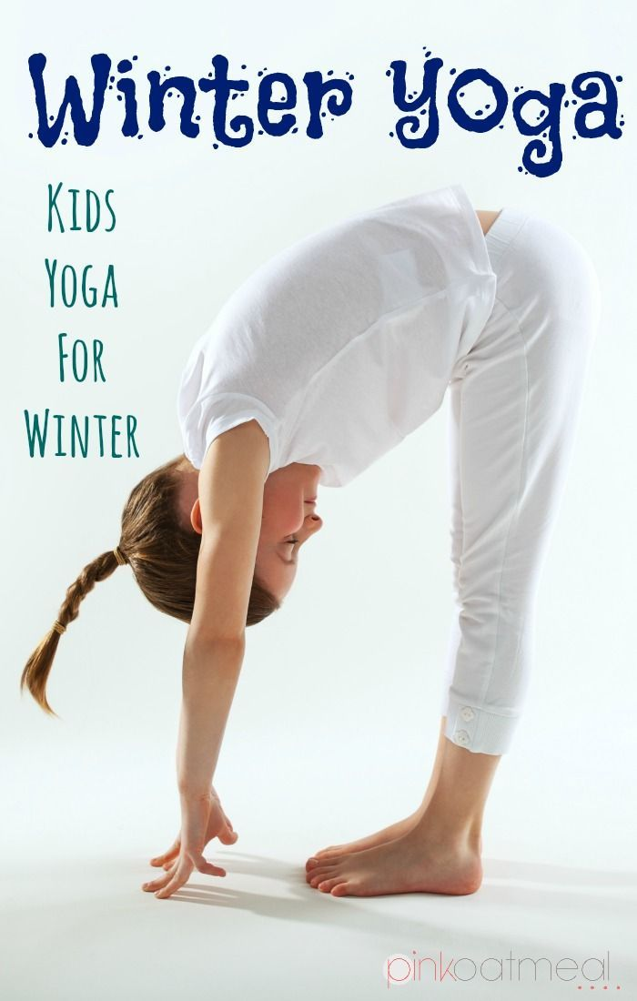 Cold weather make it too cold to bounce and run around outside? Check out these great yoga activities for kids to stay healthy this winter!