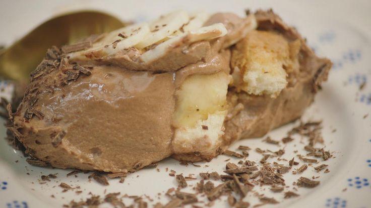 Tiramisu met chocolade en banaan | Dagelijkse kost