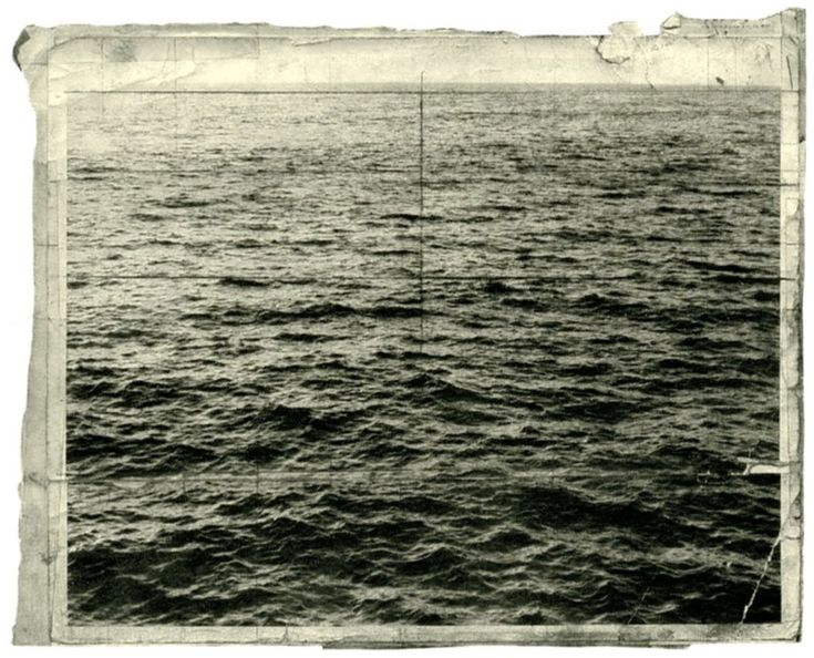 Vija Celmins Working Photos