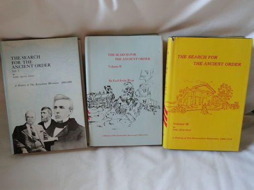 The Search For The Ancient Order Books Vol 1, Vol 2, Vol 3 Copyright 1974 RARE