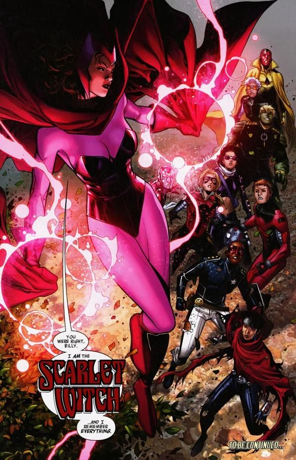 Wanda Maximoff (Earth-616) - Marvel Comics Database