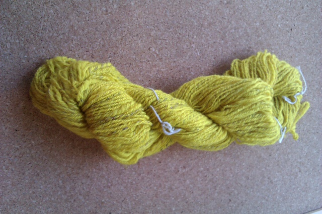 Ravelry: celeritas2's Lakers Joy: First skein of yarn from this lot, next I'll do the purple & yellow mixed bits and then the purple.