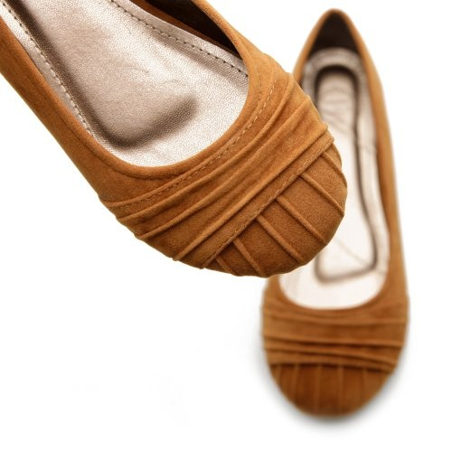 Ollio Women's Faux Suede Ballet Low Heels Flat Loafers Comfort Multi-Color Shoes $13: Fake Su, Low Heels, Woman Faux, Flats Loafers, Ballet Flats, Multi Colors Shoes, Heels Flats, Ollio Woman, Brown Flats