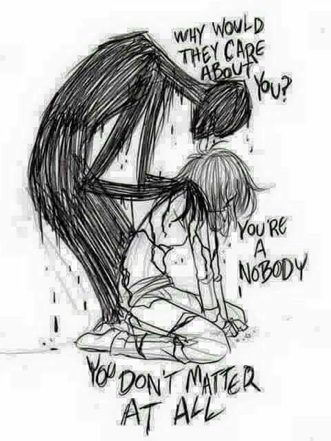 Depression: To all those who struggle in silence, to all those who live with the pain, to all those who hear depressions screaming whispers, you are not alone, I care.