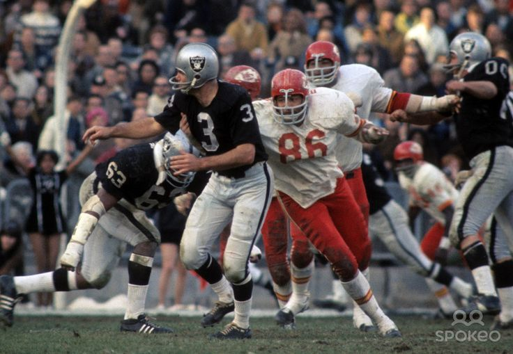 Chiefs - Raiders: early 70's