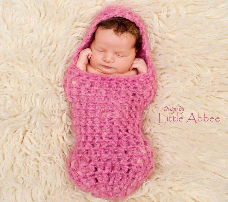 36 best capullos de bebe tejidos images on Pinterest | Patrones de ...