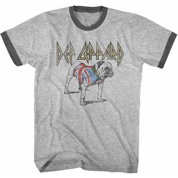Def Leppard On Through The Night Heavy Metal Licensed Tee T-Shirt Men
