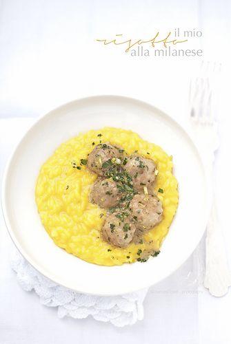 """risotto alla milanese.. con ossobuco """"scappato""""   www.pane-burro.blogspot.com"""