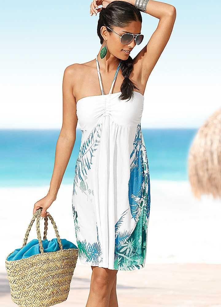 A garment ill bring is a beautiful beach dress