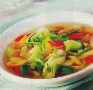 Weight Watchers Recipe: Excellent Cabbage Soup, Calories: 20, WW Points: 0 Weight Watcher Points