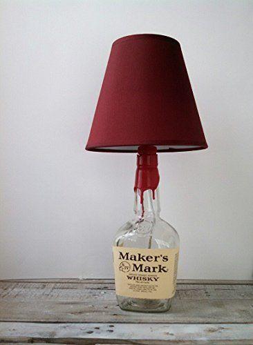 Maker's Mark or Jack Daniels Lamp.
