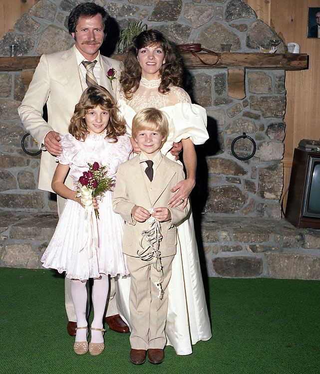 Dale Earnhardt and family