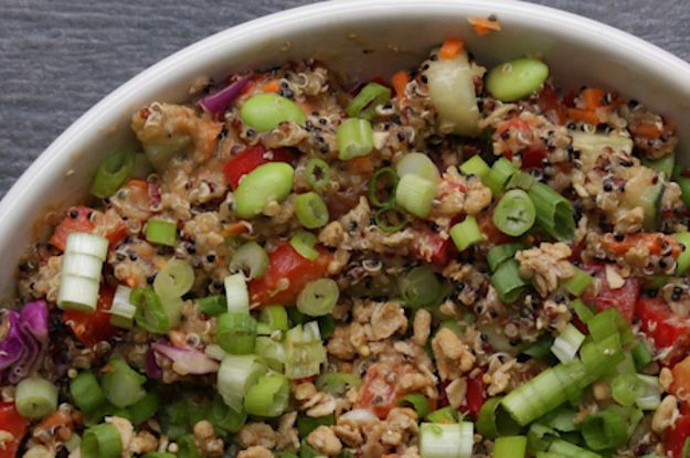 Here's Four And Exciting Ways To Make A Quinoa Salad