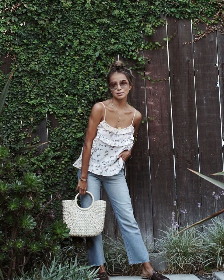 """Shop Sincerely Jules on Instagram: """"Baby girl in our Estelle tank x Fiona jeans.  
